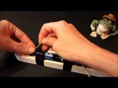Cortador para porexpan (corcho blanco). Porex cutter. - YouTube
