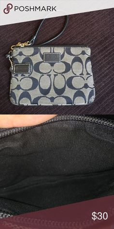 Coach Wristlet/Wallet Good condition, gentle used. Coach Bags Clutches & Wristlets