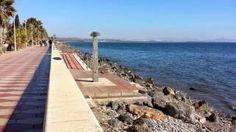 Paseo maritimo Costacabana Almeria estado actual 04-01-2015