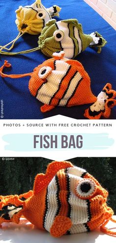 Fish Bag Free Crochet Pattern Fish bag is a simple drawstring design in a fun shape of a fish. Fish Bag Free Crochet Pattern Fish bag is a simple drawstring design in a fun shape of a fish. Crochet Shell Stitch, Crochet Yarn, Free Crochet, Crochet Fish, Crochet Drawstring Bag, Mochila Crochet, Crochet Backpack, Drawstring Bags, Crochet Handbags