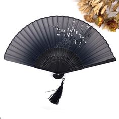 High Quality 1PC Classic Bamboo Silk Blend Japanese Chinese Handmade Pocket Fan Folding Hand Held Fan Free Shipping-in Party Favors from Home & Garden on Aliexpress.com | Alibaba Group