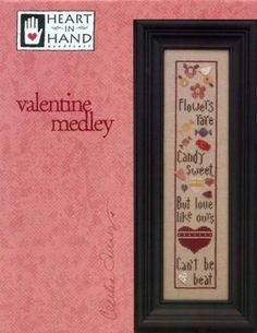 Valentine Medley Cross Stitch