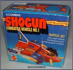 shogun warrior battle jet | Battle Jet - Action Figure Gallery
