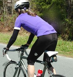 Woman riding, a must read for cyclist/triathletes in it for the long haul.