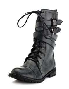 Lace up Vegan Boots