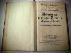 Johann Stephan Pütter - Auserlesene Rechts-Fälle - Original Antiquarisch v. 1791
