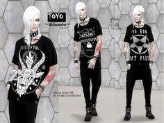 Helsoseira's TOYO - Killstar T-Shirt LOOSE fit - MESH needed