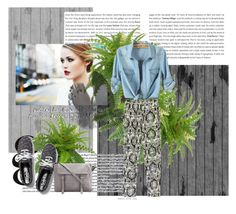 """""""fashion"""" by adorotic ❤ liked on Polyvore featuring мода, Chicnova Fashion, Keds и Edition"""