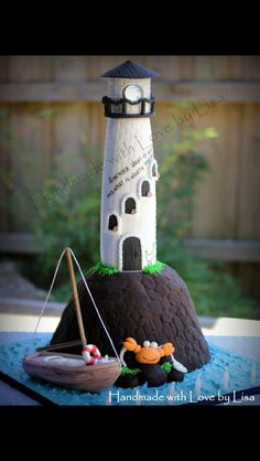 The Lighthouse Cake