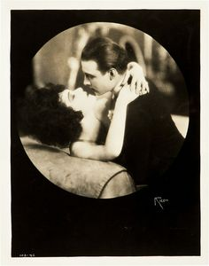 Portrait of Alla Nazimova and Rudolph Valentino from Camille by Arthur Rice.