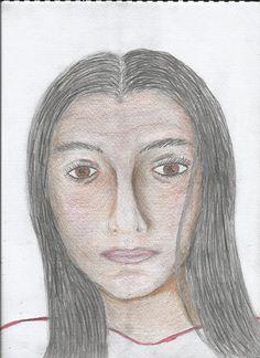 sketch of my daughter, Clover