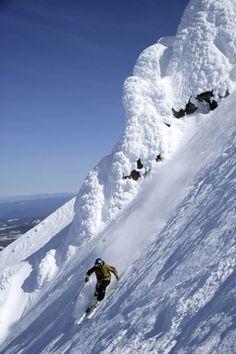 Mt. Bachelor....I've skiied here before