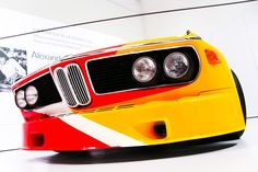 Painted By: Alexander Calder - 1975 BMW 3.0 CSL