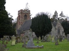 St. Mary's, castle Church Stafford, England. This is the possible location of our Staffords. Beautiful old cemetery.