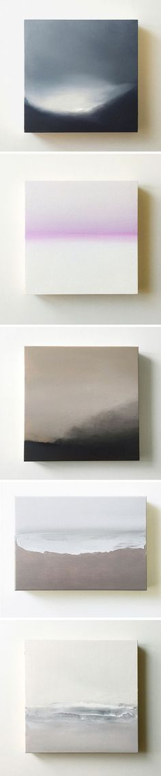 Oil on birch paintings, by Katte Geneta (avail. on @buysomedamnart )