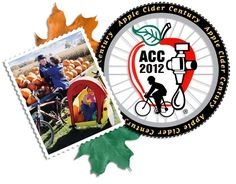 Apple Cider Century Ride in Three Oaks, Michigan (September)