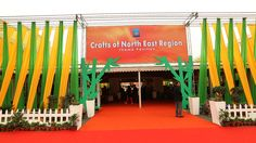 A special showcase of crafts from India's North Eastern Region has been set up at the theme pavilion at IHGF Delhi Fair spring-2016.  27 artisans & entrepreneurs are center of attraction. The display of forest based products in contemporary designs is a pleasant mix of bright as well as subdued merchandise and is appealing to the visiting buyers. #ihgf #tradeshow