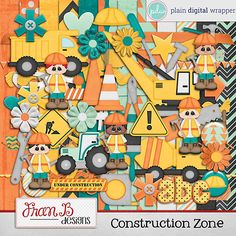 Construction Zone by FranB Designs - https://www.plaindigitalwrapper.com/shoppe/product.php?productid=15098