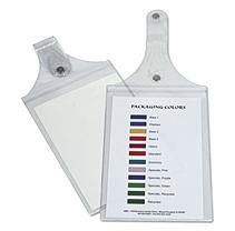 C-Line - Magnetic Hanging Shop Ticket Holders, Clear, 9 x 6 -  15/Box