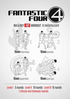 Fantastic 4 Workout