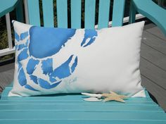 Outdoor pillow Don't bother me I'm crabby 15x20 by crabbychris, $38.00