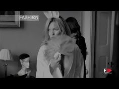 KATE MOSS for PLAYBOY Backstage Photoshoot by Fashion Channel - YouTube