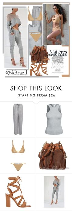 """""""Rickibrazil.com: Matiéres á sensations"""" by hamaly ❤ liked on Polyvore featuring Joseph, NLY Trend, Diane Von Furstenberg, Gianvito Rossi, ootd, blouse, pants and rickibrazil"""