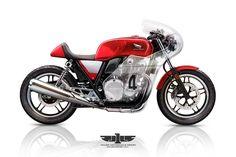 RocketGarage Cafe Racer: CB1100 Vetro