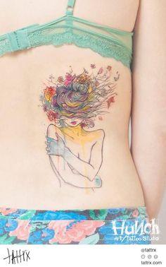 Seleção: 100 tatuagens feitas com técnica de aquarela | Estilo