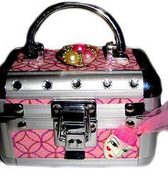 JEWELRY KEEPSAKE WEDDING travel  trinket box with by wowitems4less, $25.00