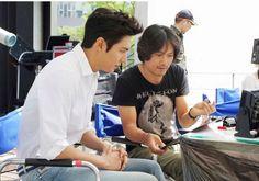 Lee Min Ho for Pepsi photo shoot.