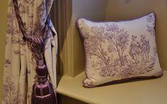 Bespoke curtains, blinds, soft furnishings for The Woodman Inn, Thunder Bridge, Yorkshire - by Ashley Interiors