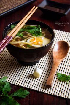 Japanese food, photography, soup, ramen