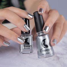 Vernis À ongles Argent Métal Couleur UV Gel Polish Whitenail Art bande Bande de Latex doigt peau protégée liquide Facile propre nail polonais