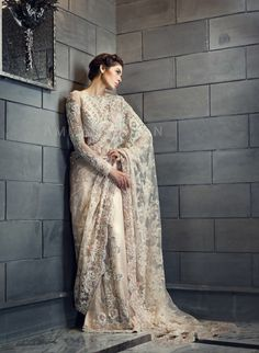 Never been a Saree person but would definitely wear this beautiful Ammara Khan piece