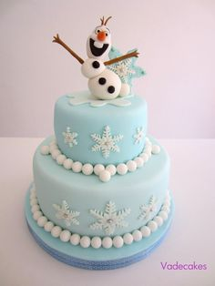 frozen cakes pictures | Disney Frozen Cake