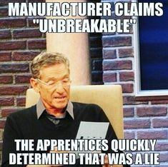Checkout some of the funny Ironworker memes. Only Ironworkers can understand these humorous memes. These hilarious memes will surely make you laugh out loud Lie Detector Test, Next Year, Serato Dj, Funny Quotes, Funny Memes, It's Funny, Vape Memes, Funny Work, Funny 2017