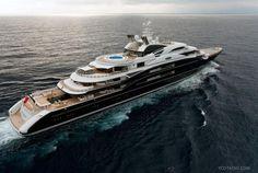 Serene, 440' Luxury Yacht | Espen Oeino Design.