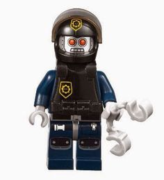 TLM060 ROBO SWAT - with vest and helmet. Year 2014