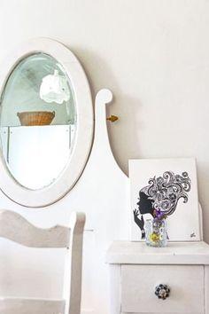 thumbnail Mirror, Table, Furniture, Home Decor, Decoration Home, Room Decor, Mirrors, Home Furniture, Interior Design