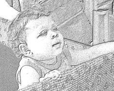 Bella, charcoal sketch in Coral Draw Charcoal Sketch, Coral, Digital, Art, Art Background, Kunst, Performing Arts, Art Education Resources, Artworks
