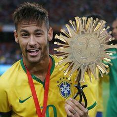 Parabéns!  Capitão da seleção brasileira. Argentina 0 - Brasil 2