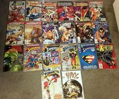 Superman and Fantastic Four Comics - Lot of 20 - Modern Age NM (plus others!)