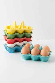 Half-Dozen Egg Crate - Anthropologie.com