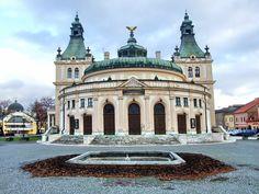 Spišské divadlo (Spish Theatre) is housed in Reduta building constructed in Art Nouveau style in Art Nouveau, Art Deco, Heart Of Europe, Academic Art, Big Country, Bratislava, Capital City, Czech Republic, Prague