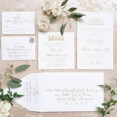 Simply stunning #invitationsuite by @thestationerystylist for our #newyearseve-eve bride today! With our favorites @jkdallimore and @kimstarrwise #sapphireevents #newyear #neworleansweddingplanner #southernweddings #kelsealikestomarty @kelsearenton