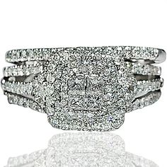 1ct Diamond Wedding SET Bridal 2pc Engagement Ring + Band Princess Cut 14k White Gold Rings-MidwestJewellery.com,http://www.amazon.com/dp/B008FQH42S/ref=cm_sw_r_pi_dp_XCx3sb1A5VWQG024