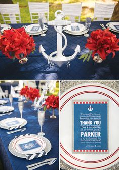 {Amazing} Ahoy! It's a Boy! Nautical Baby Shower // Hostess with the Mostess®