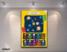 Here is the story behind conceptualizing one of our best selling posters 'Our Solar System.'   Read the story here https://www.ekdali.com/blog/the-story-behind-the-solar-system