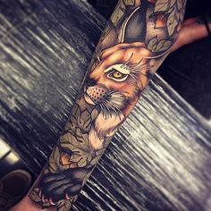 New best tattoo in USA and World part 1 | Artist: @tom_bartley . Also follow @tattoodomain